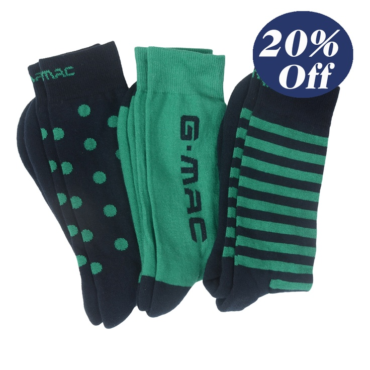 Were $45 now $36 McSock in Jade. 3pack
