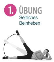 Bauch, Beine, Po Übungen für zuhause - Fitness Magazin