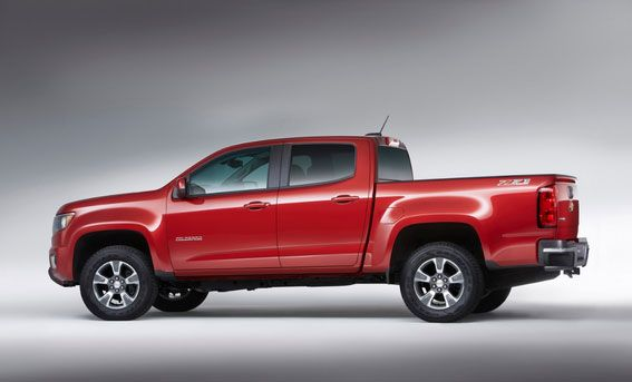 2017 Chevrolet Colorado Scheduled to arrive Later this Year…