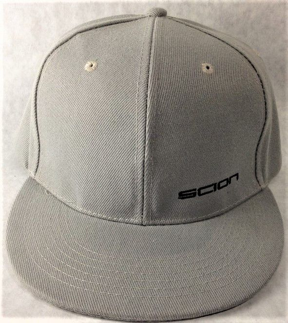 SCION car show promo cap brand new never worn gray snapback