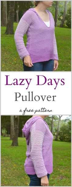 Lazy Days Pullover – A free pattern by