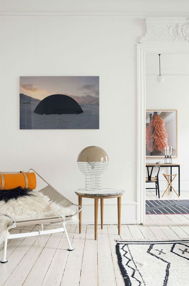 A lovely Danish apartment in neutrals