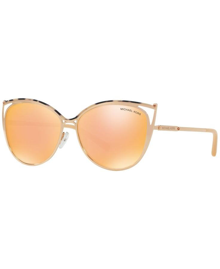 Eyewear by Michael Kors is perfect for any mood. Feel chic, luxurious, sleek and sophisticated in his timeless designs. | Gender: FEMALE | Frame Style: CAT EYE | Frame Fit: SMALL | Lens Feature: MIRRO
