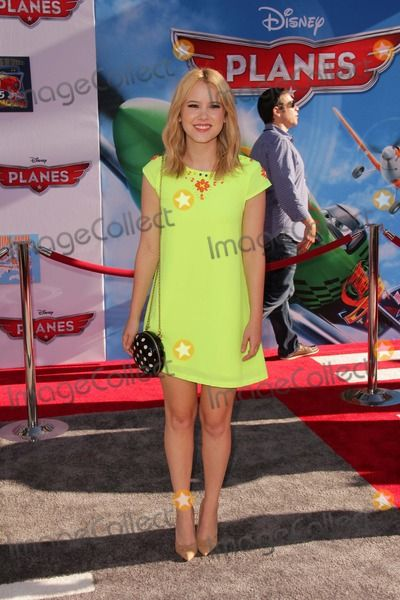 "LOS ANGELES - AUG 5:  Taylor Spreitler arrives at the ""Planes"" World Premiere at the El Capitan on August 5, 2013 in Los Angeles, CA"