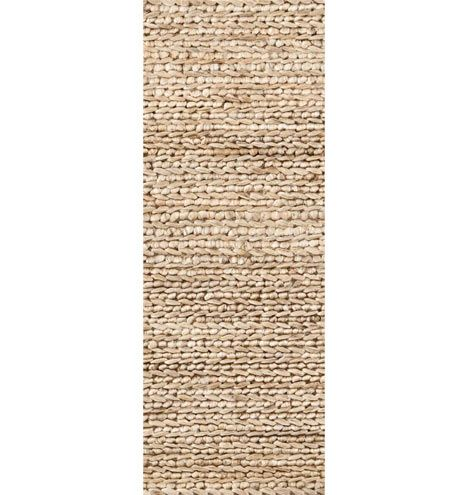 2 1/2 Ft X 8ft Woven Jute Rug (Rejuvenation.com QTY
