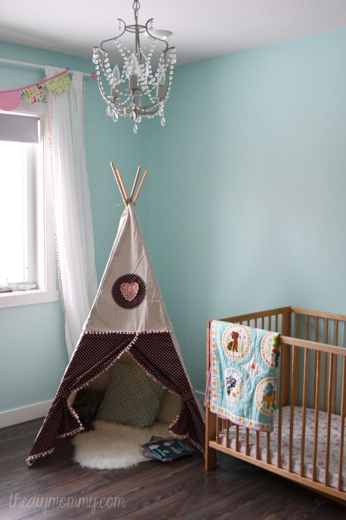 The DIY Mommy - Porch - teepee