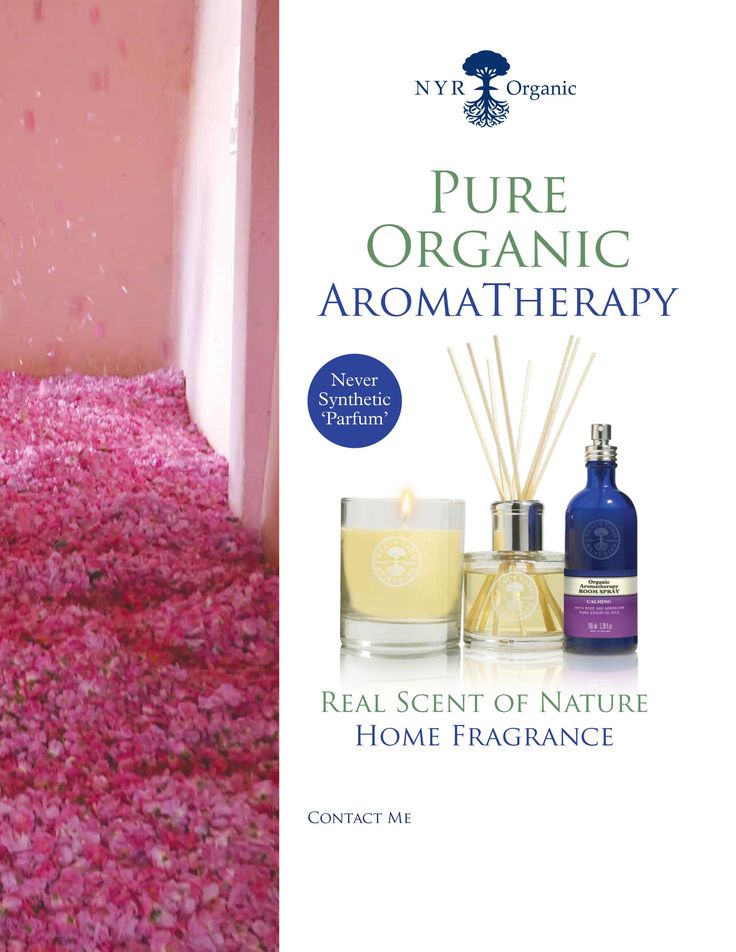 NYR Organic - never synthetic fragrances used... pure organic essential oils only!