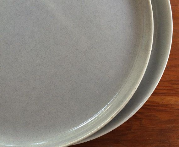Russel Wright American Modern Dinner Plates by putnamandspeedwell