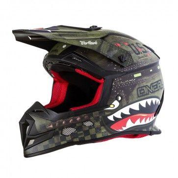 O'Neal 5 Series Warhawk Mens Off Road Dirt Bike Racing Motocross Helmets