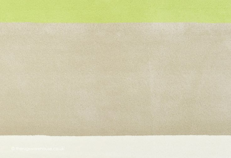 Mabini Green Rug, an ivory, beige & green hand-tufted rug from luxury brand Angelo with a striped contemporary design (hand-tufted, New Zealand wool & viscose, 6 sizes incl. 300x300cm) http://www.therugswarehouse.co.uk/modern-rugs3/signature-rugs/mabini-green-rug.html