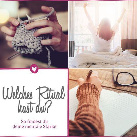 Stricken & Co.: Mentale Stärke durch kleine Rituale. Mit diesen Tricks findet man seine innere Balance!