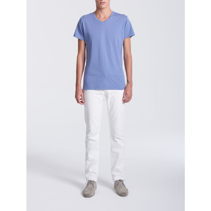 V-Neck BlueWash T-shirt - Men