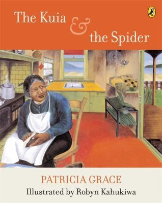 Picture story for children. -First published Auckland, N.Z. : Longman Paul, 1981. -Also published 1981 in Maori under title: Te kuia me te pungawerewere. -The tale of an old woman (Kuia) and a spider who share the same kitchen and who are constantly arguing and trying to out do each other. Suggested level: junior, primary.