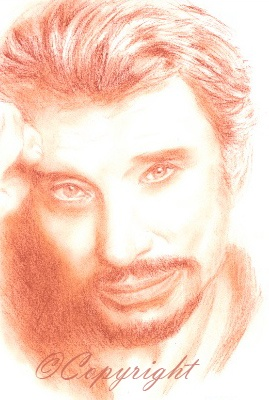 17 Best images about dessin johnny hallyday on Pinterest ...