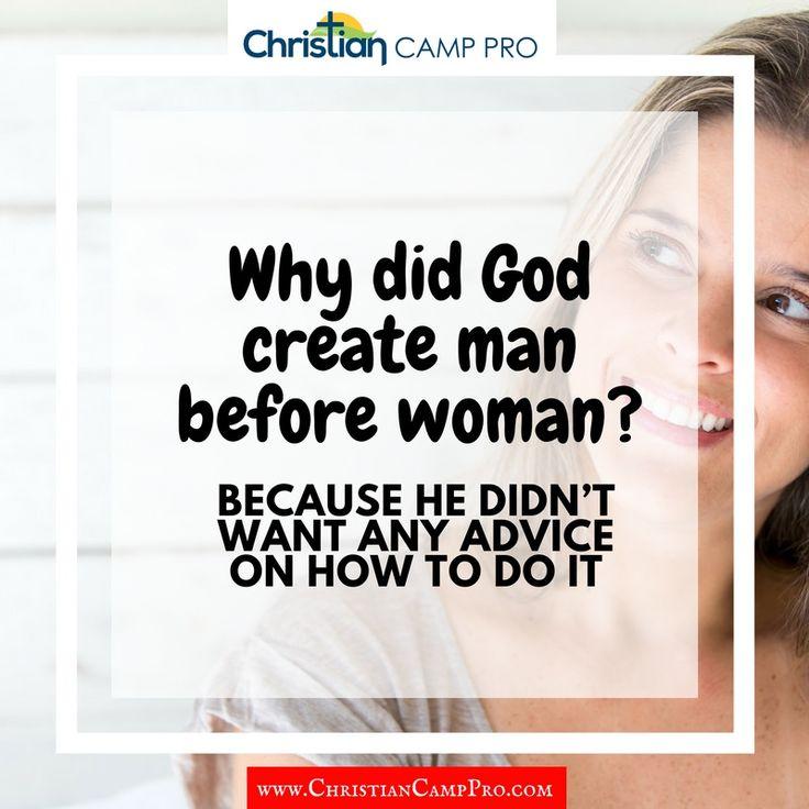 why did god create man - 736×736
