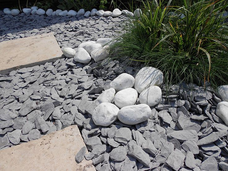 how to clean white pebbles in garden