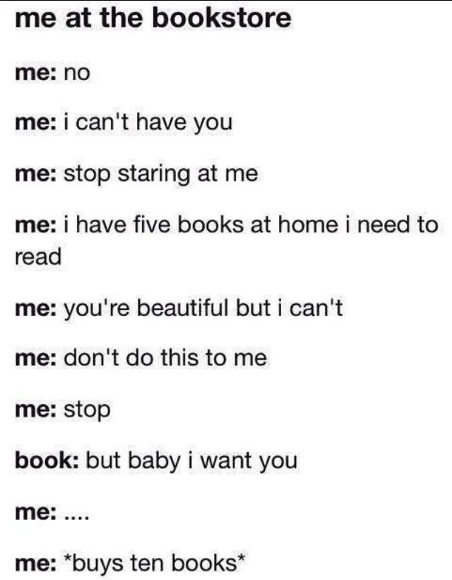 YES I AM A BOOK JUNKIE!!! ❤