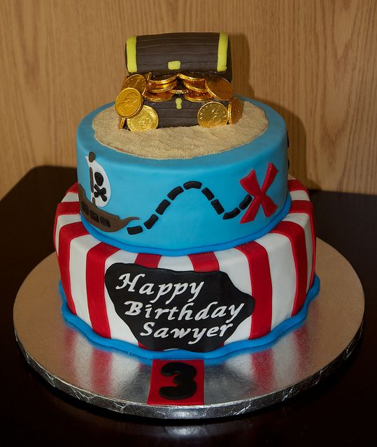 pirate cake | pirate cake not so scary pirate cake for 3 year old birthday party the ...