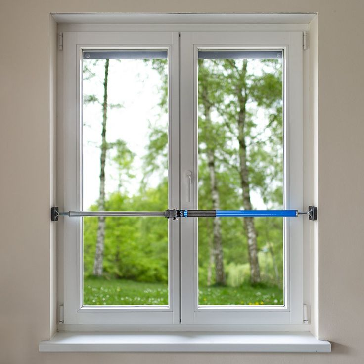 Sicherungsstange Fenstersicherung Türsicherung Einbruchschutz 199-375cm…