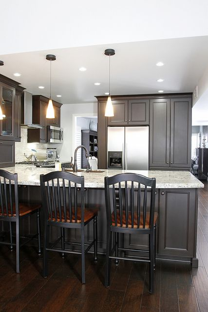 Best 25+ Dark kitchen cabinets ideas ideas on Pinterest | Dark ...