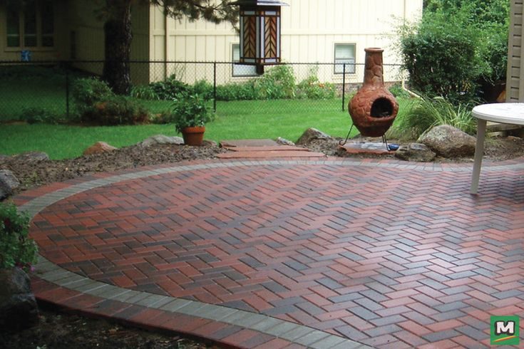 Design Your Dream Patio With 4 X 8 Holland Pavers