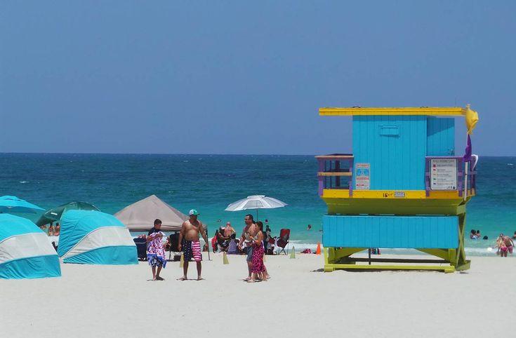 Miami - palmuja, aurinkoa ja pitkiä rantoja
