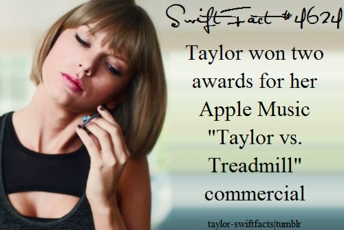 She gets awards for commercials? THATS AWESOME
