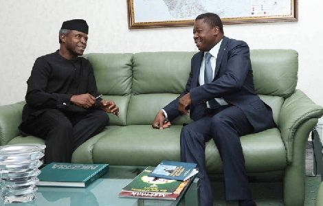 Photos: President Of Togo Was In Nigeria Today
