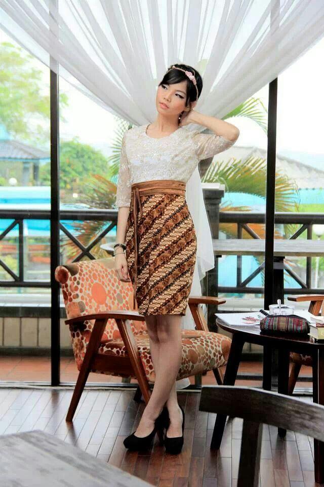 Batik and lace