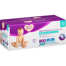 Walmart: Parent's Choice Fragrance Free Quilted Baby Wipes, 800 sheets $13.47