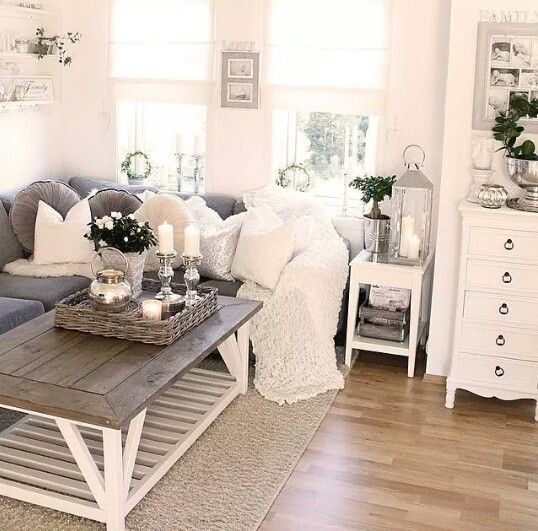 Mer enn 25 bra ideer om Wohnzimmer grau weiß på Pinterest | Weiße ...