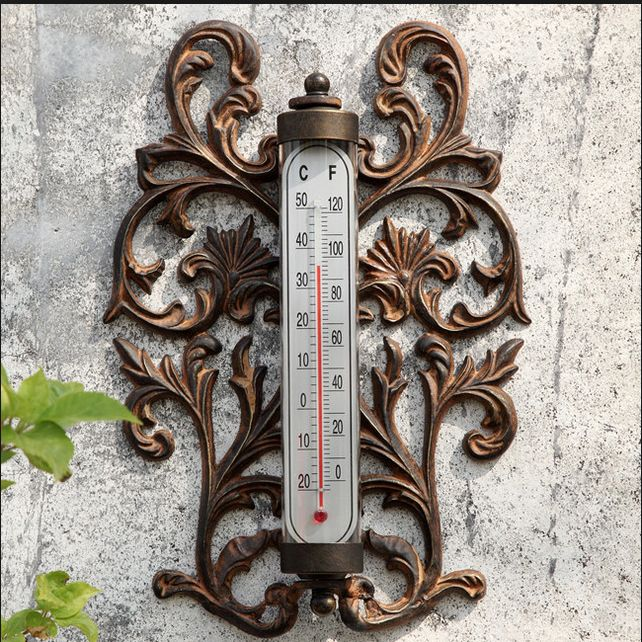 http://www.houzz.com/photos/3907032/Scroll-Wall-Mounted-Thermometer-eclectic-decorative-thermometers-atlanta