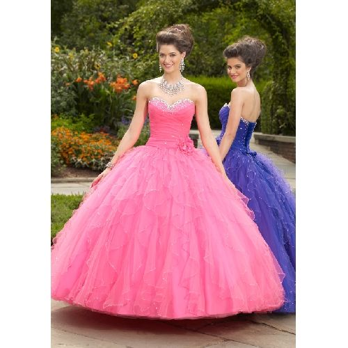 Poffy Prom Dress Cheap Pink Poofy Prom Dresses Buy Cheap
