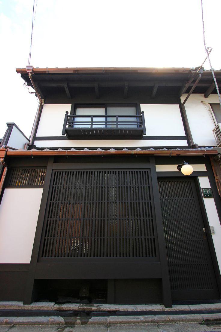 京都の伝統家屋 町家の貸切の宿 清水ろくしょう庵_外観 kyoyadoya Japan kyoto machiya inn