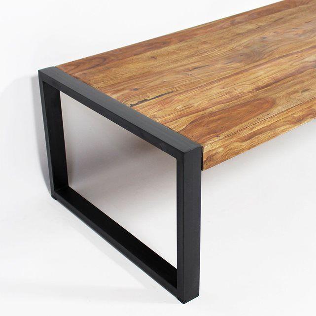 17 meilleures id es propos de pied de table metal sur - Pied de table basse en bois ...