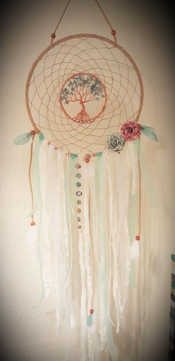 Árbol de la vida Dream Catcher/Vintage/colgante de pared/de la