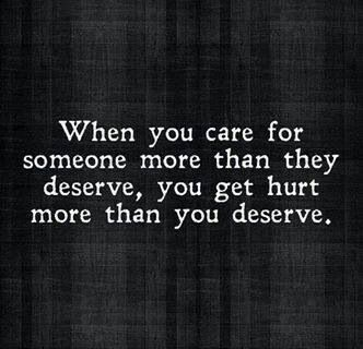 Sometimes when i see a good person get treated like this i know they can do better