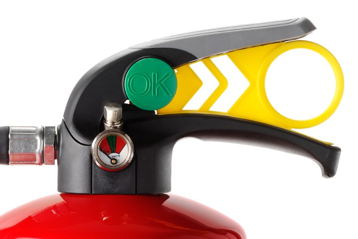 Chubb FX fire extinguisher range wins Good Design award #productdesign #productdevelopment #industrialdesign #engineering #design