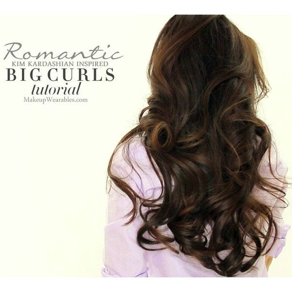 how to make big soft curls with curling iron