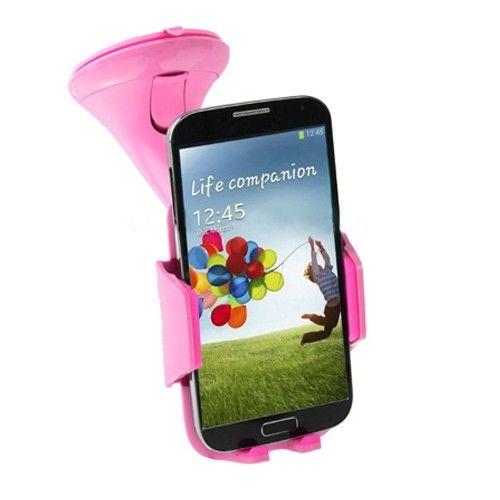 Designer Universal bilholder (Pink) til Smartphones