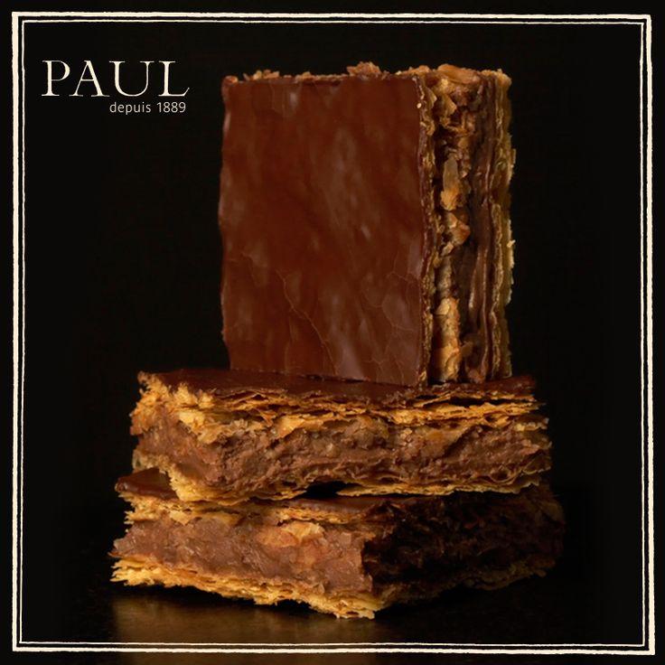 Χίλια φύλλα απόλαυσης με σοκολάτα! Αυτό το millefeuille θα το ξαναζητήσετε χίλιες φορές.