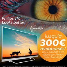 Vite vite vite ! C'est que jusqu'au 13 janvier 2018, pour l'achat d'un #TV #Philips #Ambilight ! #tvhd #hifi