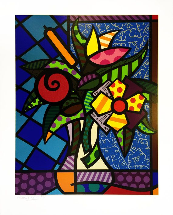 ROMERO BRITTO ITS FOR YOU MEDIUM: SERIGRAPH SIZE: 26 X 20 INCHES EDITION: HC 17/25 SIGNATURE: HAND SIGNED AND NUMBERED IN PENCIL BY THE ARTIST CERTIFICATE OF AUTHENTICITY INCLUDED ARTWORK IS IN EXCELLENT CONDITION ADDITIONAL IMAGES AVAILABLE UPON REQUEST WE ACCEPT PAYPAL, CREDIT CARD, CHECKS, WIRE TRANSFER AND LOCAL PICK UPS  ALL REASONABLE OFFERS WILL BE CONSIDERED
