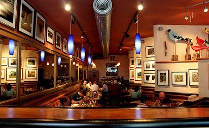 """""""Tweet Let's Eat"""" - delicious food - great crowd - cute interior - separate gluten free menu!  In Uptown.  = )"""