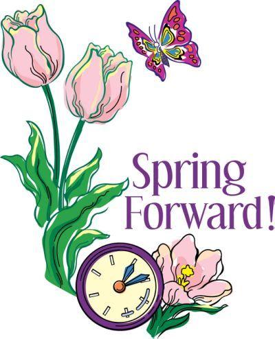 Spring Forward Fall Back Clipart