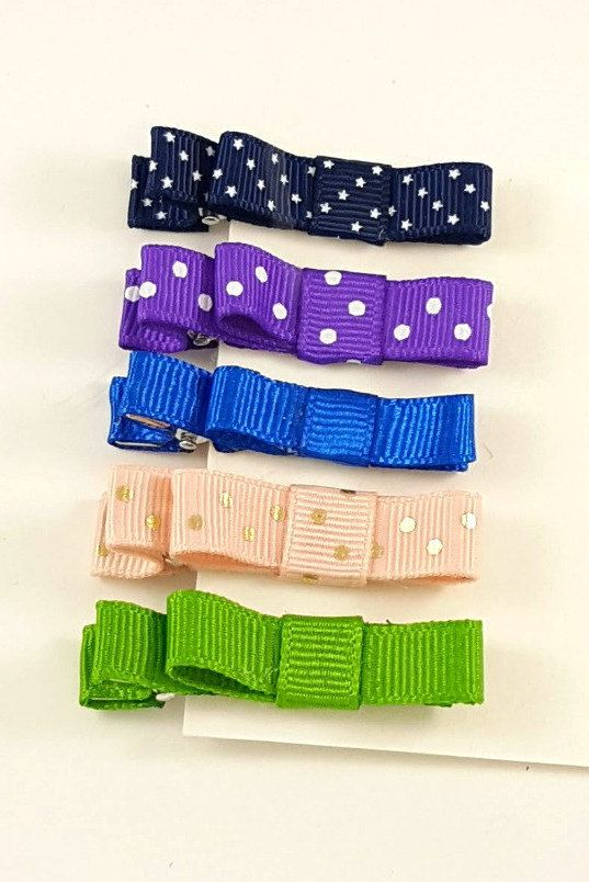 Hair Clips, Hair Clippies, Hair Clip Sets, Girls Hair Clips, Toddler Hair Clips, Baby Hair Clips, Small Hair Clips, Alligator Clips by BethysBowsAndMore on Etsy