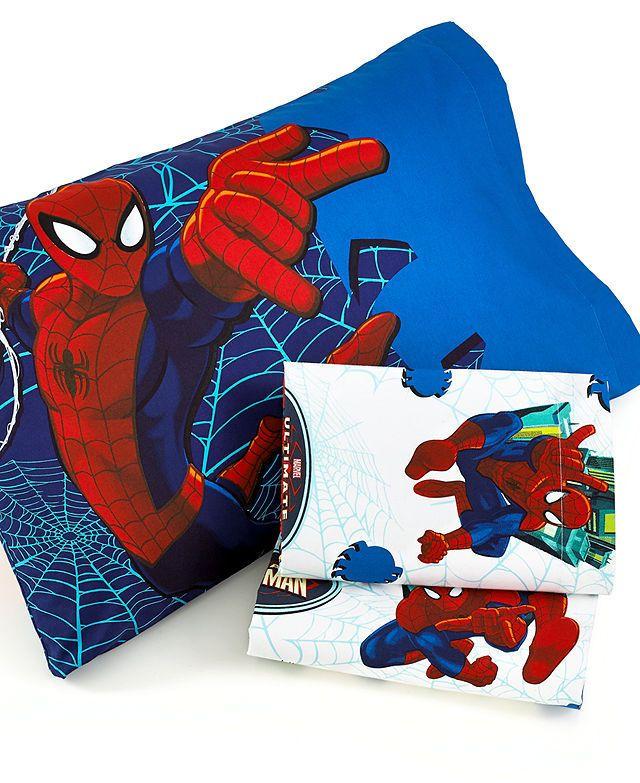 Jay Franco Bedding, Spiderman Go Spidey Sheet Sets - Bed ...