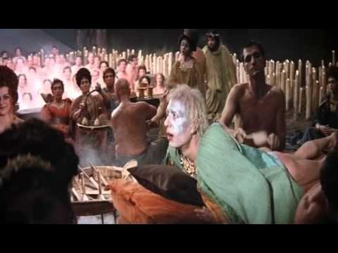 """""""Satyricon"""" (1969). Dir. Federico Fellini. Basada en el """"Satiricón"""" de Petronio (s. I d.C.). Puedes encontrar el libro en http://absysnet.bbtk.ull.es/cgi-bin/abnetopac?TITN=54659"""