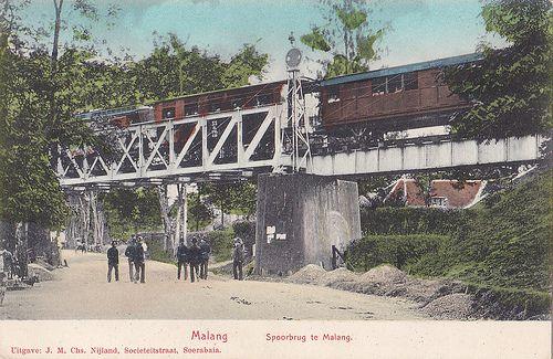 Tempo Doeloe #62 - Malang, Jembatan, 1912.Bridge