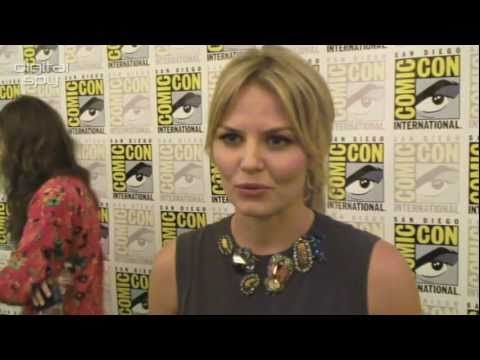 """Jennifer Morrison: Once Upon A Time is like """"watching Harry Potter every week!""""  Best one line pitch for a show ever."""